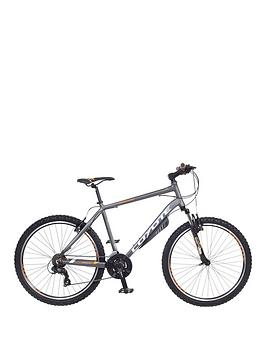 Image of Coyote Choctaw 21-Speed Mens Mountain Bike 22 inch Frame, Grey, Men