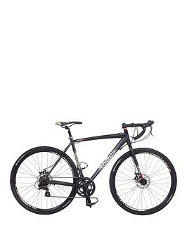 Image of Coyote Gravel Trail Alloy 14-Speed Mens Bike 52cm Frame, Black, Men