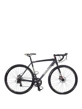 Image of Coyote Gravel Trail Alloy 14-Speed Mens Bike 56cm Frame, Black, Men