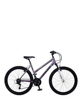Image of Bronx Apogee Front Suspension Ladies Mountain Bike 18 inch Frame, Lilac, Women