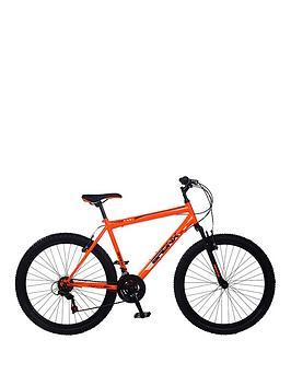 Image of Bronx Apogee Front Suspension Mens Mountain Bike 19 inch Frame, Orange, Men