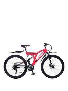 Image of Bronx Bolt Dual Suspension Ladies Mountain Bike 18 inch Frame, Pink, Women