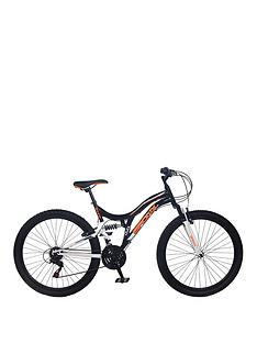 Bronx Ghetto Dual Suspension 18-Speed Mens Mountain Bike 18 inch Frame