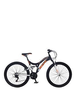 Image of Bronx Ghetto Dual Suspension 18-Speed Mens Mountain Bike 18 inch Frame, One Colour, Men