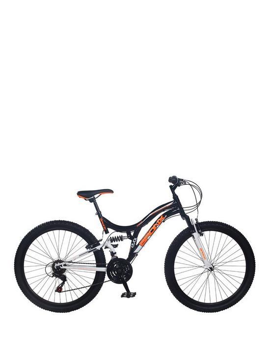 5284d13f2218d Bronx Ghetto Dual Suspension 18-Speed Mens Mountain Bike 18 inch Frame