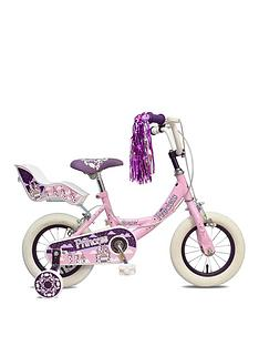 Concept Princess 8.5 Inch Frame 12 Inch Wheel Mountain Bike Pink