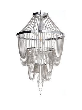 michelle-keegan-home-angel-chain-chandelier-light