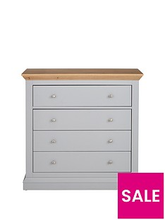 Ideal Home Hannah 4 Drawer Chest