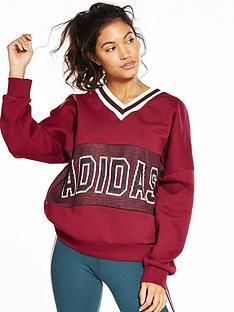 adidas-originals-adibreak-sweater-burgundynbsp
