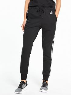 adidas-essentials-3-stripe-tapered-pants-blacknbsp