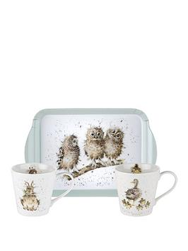 portmeirion-portmeirion-wrendale-mug-amp-tray-set