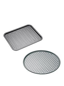 master-class-non-stick-crisper-and-pizza-tray-set