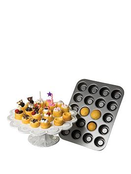 chicgao-metallic-tea-cake-pan-20-cup-non-stick