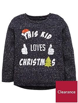 mini-v-by-very-boys-this-kid-loves-christmas-long-sleeve-t-shirt