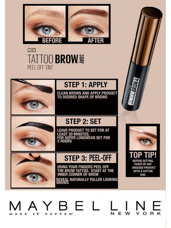 Maybelline Maybelline Tattoo Brow Longlasting Gel Tint Very