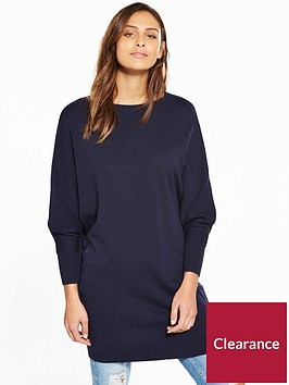 v-by-very-cut-out-back-detail-batwing-tunic