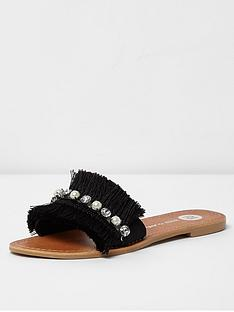 river-island-fringe-sandal