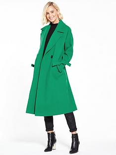 vero-moda-siena-coat-pepper-green