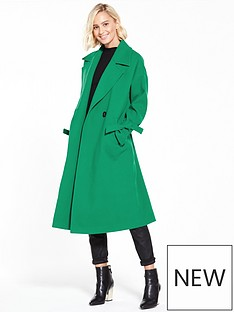 vero-moda-siena-long-jacket-pepper-green