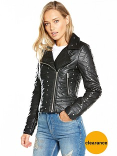 miss-selfridge-quilted-studded-biker-jacket-blacknbsp