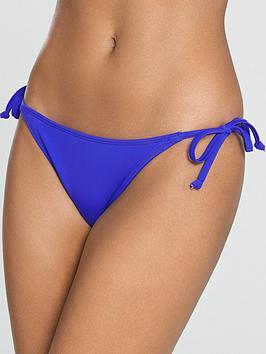 Dorina Bora Bora Tie Side Bikini Brief - Cobalt Blue