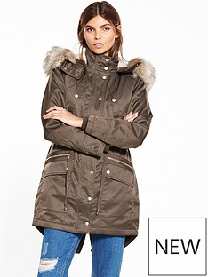 miss-selfridge-luxe-parka
