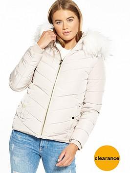 miss-selfridge-padded-jacket-nude
