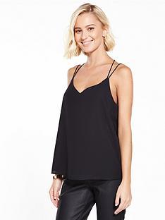 vero-moda-amaze-string-cami-top-black