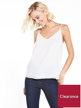 vero-moda-amaze-string-cami-top-snow-white