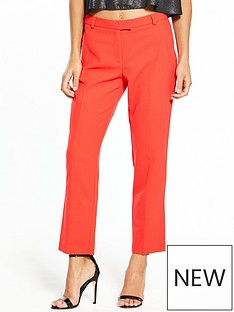 miss-selfridge-miss-selfridge-petite-carmel-trouser-red