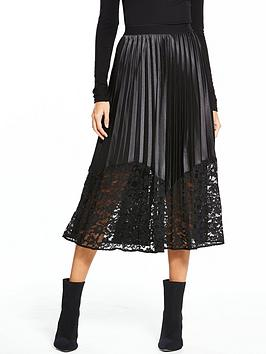 Y.A.S Yas Tall Zone Pleated Skirt