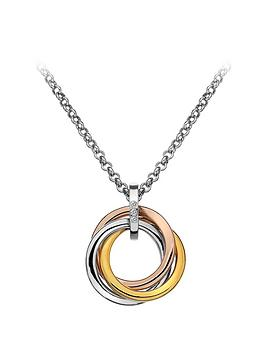 hot-diamonds-sterling-3-tone-diamond-trio-ring-pendant