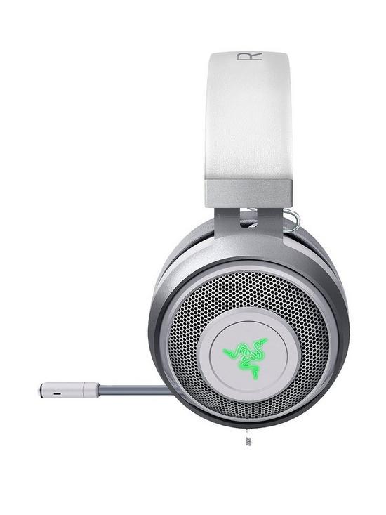 fa26437caa9 Razer Kraken 7.1 V2 Surround Sound Gaming Headset - Mercury Edition Oval