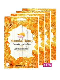 vitamasque-vitamasque-maunka-honey-sheet-mask-box-of-4