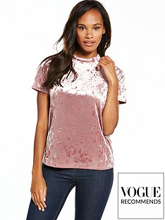 v-by-very-velvet-t-shirt