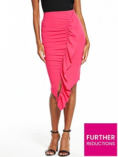 v-by-very-ruffle-pencil-skirt-hot-pink