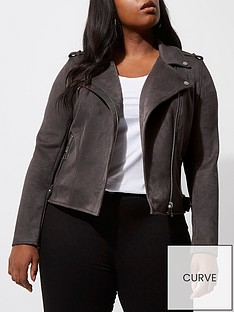 ri-plus-suedette-biker-jacket