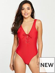 boux-avenue-boux-ave-lace-up-swimsuit