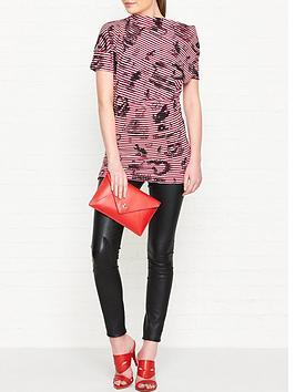 vivienne-westwood-anglomania-grateful-print-drape-top-red