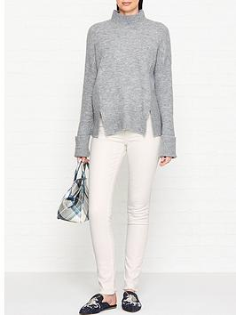 vivienne-westwood-anglomania-new-skinny-jeans-white