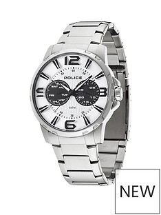 police-police-visionary-white-dial-day-date-feature-stainless-steel-mens-watch