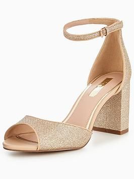 Miss Kg Gaze Two Part Heeled Sandal