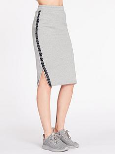 ellesse-exclusive-guardando-midi-skirt-grey-heathernbsp