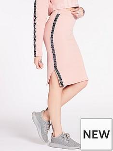 ellesse-exclusive-guardando-midi-skirt-pinknbsp