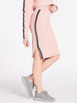 Ellesse Exclusive Guardando Midi Skirt - Pink