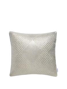 michelle-keegan-home-metallic-diamond-knitted-cushion