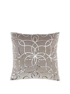 michelle-keegan-home-metallic-sequin-embroidered-cushion