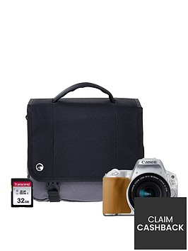 canon-eos-200d-silver-slr-camera-kit-inc-18-55mm-is-stm-lens-16gb-sd-card-and-case
