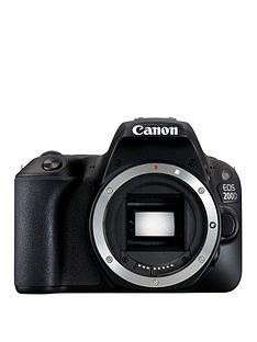 canon-eos-200d-slr-camera-in-black-body-only-242mp-30lcd-fhd