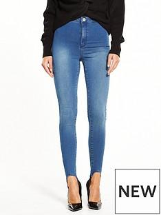 miss-selfridge-stirrup-steffi-skinny-jean-blue